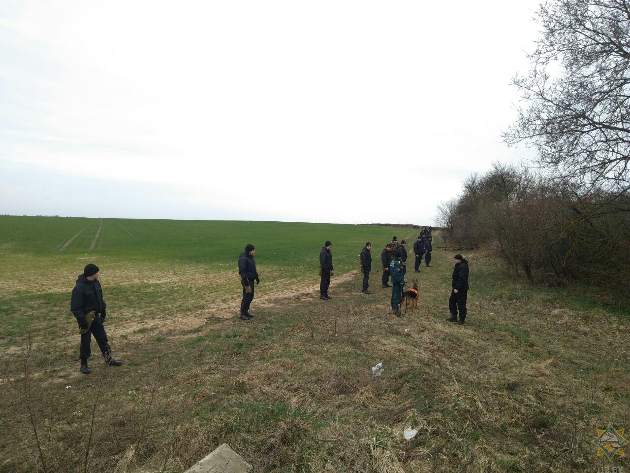 Поисковые работы пропавшего двухлетнего Вани в д. Любашки продолжаются